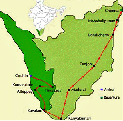 Incredible Southern India